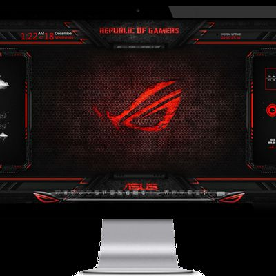 Asus Rog Theme windows