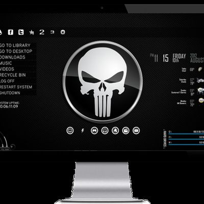 Punisher desktop theme