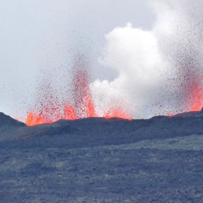 Eruption du Piton de la Fournaise...