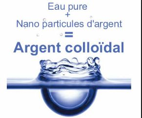 L'Argent colloïdal : antibiotique naturel