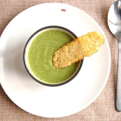 Velouté brocolis-parmesan