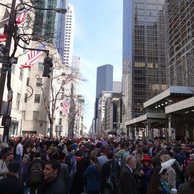 """Souvenirs de """"Easter parade"""" de Pâques 2014 ... Quel kif de marcher au milieu de la 5 ème avenue !!!"""