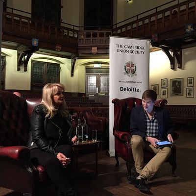 [PHOTOS] Bonnie Tyler - Cambridge Union Society - 3/03/2015