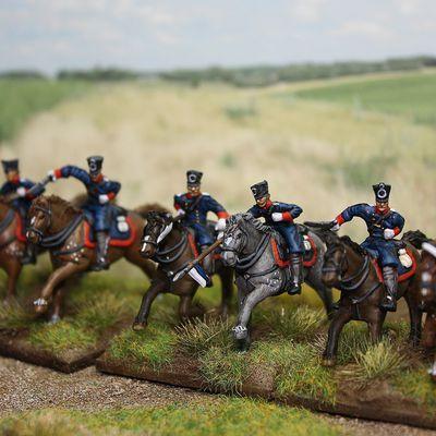 1ère Brigade de la réserve de cavalerie du IV corps prussien.