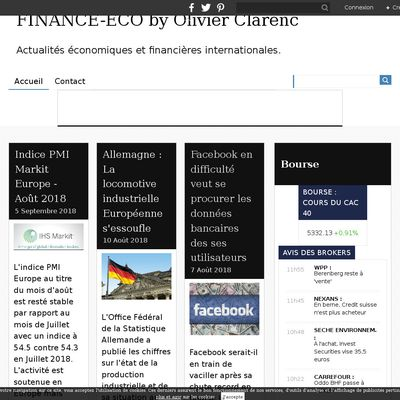 FINANCE-ECO by Olivier Clarenc