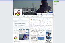 La gendarmerie de Loire-Atlantique est sur Facebook !