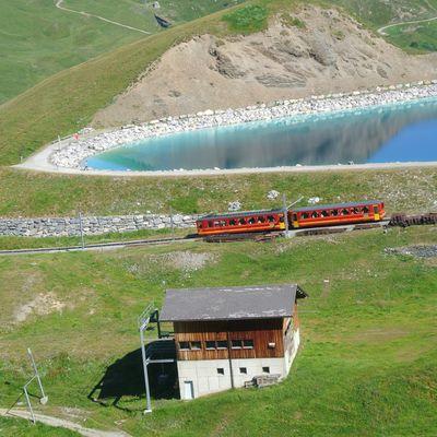 Trains d'altitude en Suisse