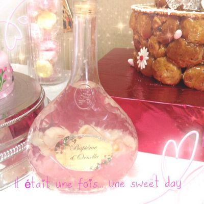 Pink cocktail (sans alcool, bien sur)