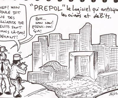 PredPol, le logiciel qui anticipe les délits