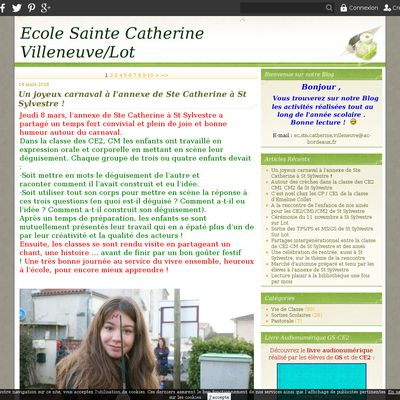Ecole Sainte Catherine Villeneuve/Lot