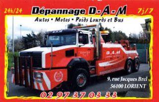Dépannage D.A.M. - Lorient