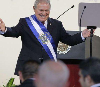 1er juin 2014 - Salvador Sanchez Ceren, nouveau président de la République du El Salvador C.A.