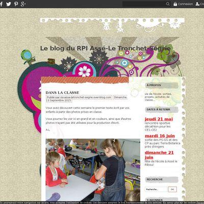 Le blog du RPI Assé-Le Tronchet-Ségrie