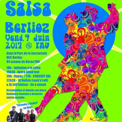 Grand Bal Salsa dans le parc - vendredi 9 juin à partir de 18h
