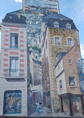 Street art fougères