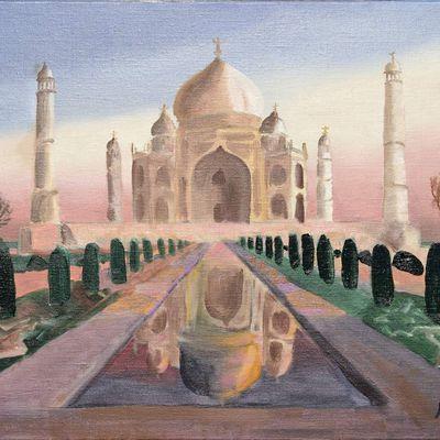 Monument d'amour infini Taj Mahal
