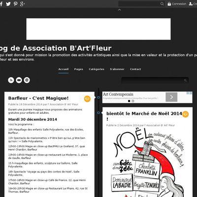 Le blog de Association B'Art'Fleur