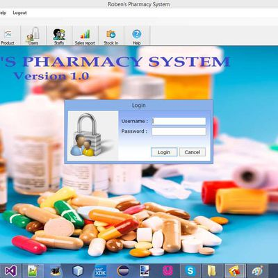 Roben's Pharmacy system