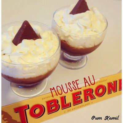 Verrines Mousse de Toblerone ®
