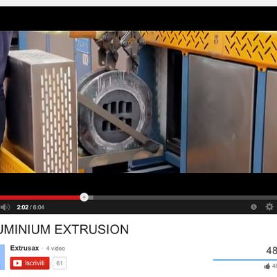 Aluminum Extrusion Video from Extrusax