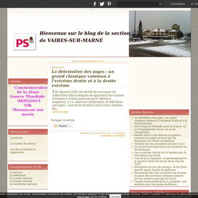 Blog de la section PS de Vaires