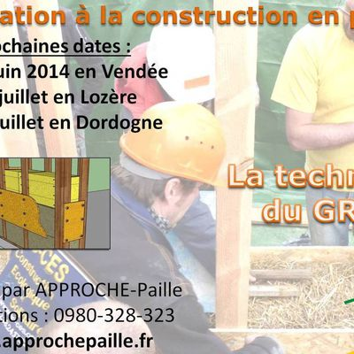 Stages Approche-Paille