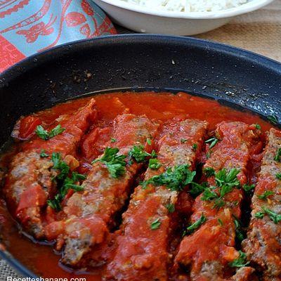 Kabab Tabei, plat à la viande hachée (cuisine Perse)