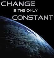 Change is Constant>>>>>>>>>