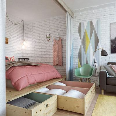 1000 ideas to decorate a small apartment
