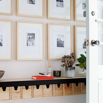 A DIY for the week-end: how to organise your hallway