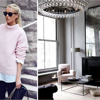 When home interiors meet fashion...