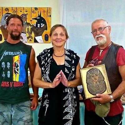 Présence de 3 artistes à la conférence Aloha d'Hawaii!