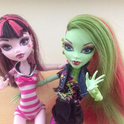La vie des Monster High