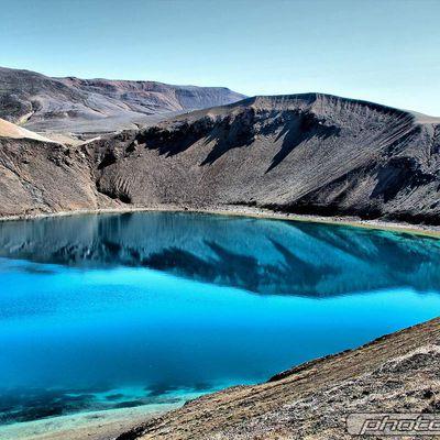 Islande (le volcan Krafla)