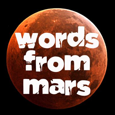 words from mars