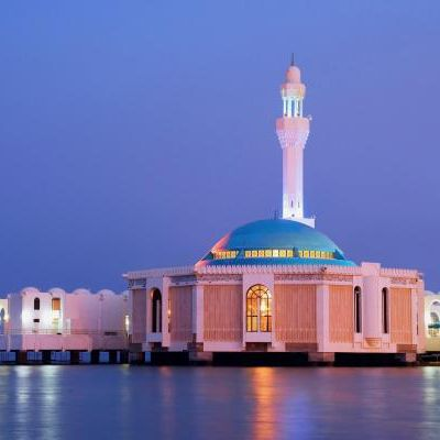 Beautiful Mosque in Jeddah