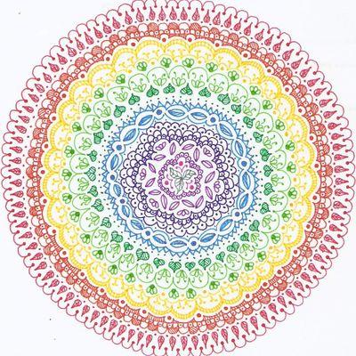 Mandalas en couleur N°2