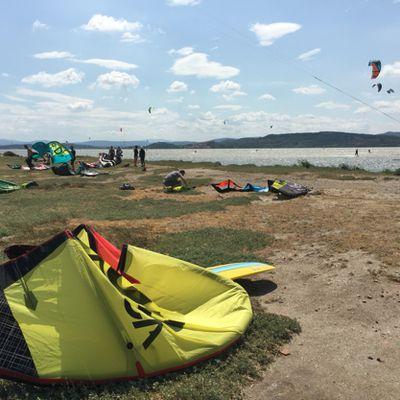 Session Kitesurf strapless à la nautique en 5
