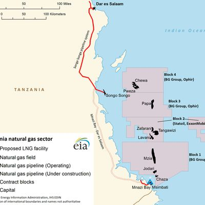 Land deal finalized in preparation for Tanzania LNG project