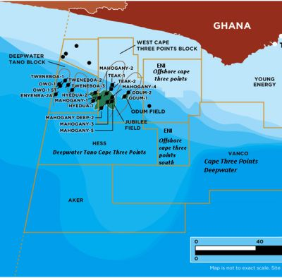 Eni awarded block near OCTP project offshore Ghana