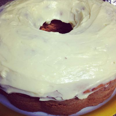 Carrot Cake with vanilla cream cheese frosting