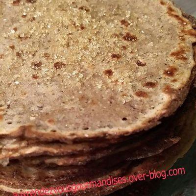 Crêpes sans gluten à la farine de châtaigne au Companion