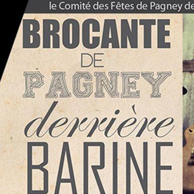 BROCANTE PAGNEY derrière Barine + CONCERT GRATUIT le 11 septembre 2016