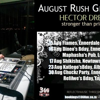 August Rush!!! Anticipation is nearly over, see you at a location near you soon!