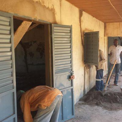 Rénovation du lycée de Kankalabé