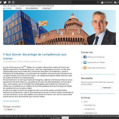 Blog officiel de Jean-Marc Pujol