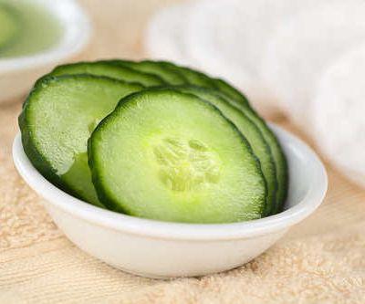 Remèdes pour éclaircir la peau  partie 5: concombre, avoine