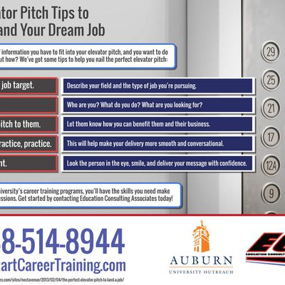 5 Elevator Pitch Tips To Help You Land Your Dream Job