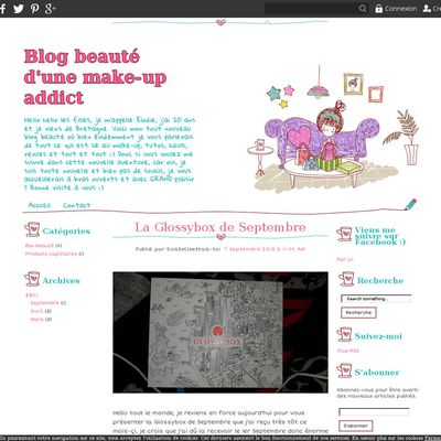 Blog beauté d'une make-up addict