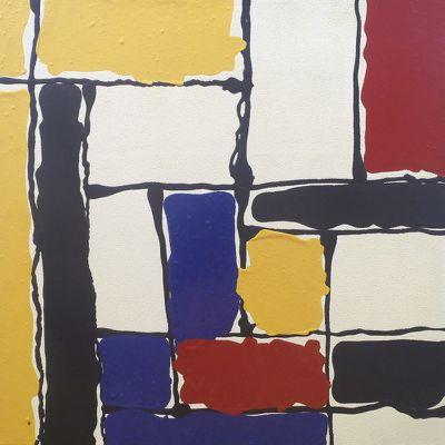 Explorations, peinture acrylique